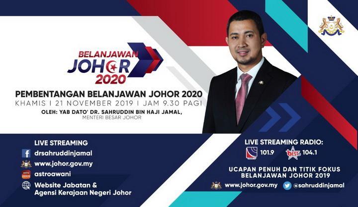 BELANJAWAN JOHOR 2020